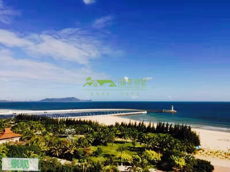 瀚海银滩180度看海